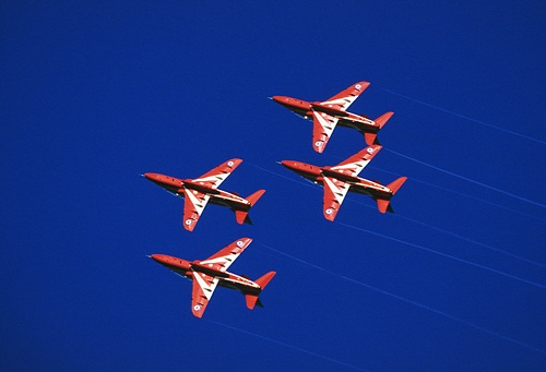 Other Images : Red Arrows in formation